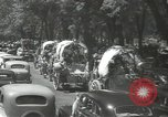 Image of ongoing parade Mexico City Mexico, 1944, second 25 stock footage video 65675063456