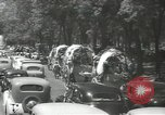 Image of ongoing parade Mexico City Mexico, 1944, second 27 stock footage video 65675063456