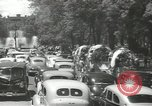 Image of ongoing parade Mexico City Mexico, 1944, second 30 stock footage video 65675063456