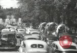 Image of ongoing parade Mexico City Mexico, 1944, second 31 stock footage video 65675063456
