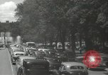 Image of ongoing parade Mexico City Mexico, 1944, second 55 stock footage video 65675063456