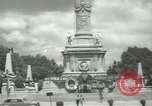 Image of monuments Mexico City Mexico, 1944, second 50 stock footage video 65675063457