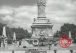 Image of monuments Mexico City Mexico, 1944, second 51 stock footage video 65675063457