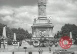 Image of monuments Mexico City Mexico, 1944, second 52 stock footage video 65675063457