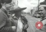 Image of United States officers Mexico City Mexico, 1944, second 10 stock footage video 65675063463