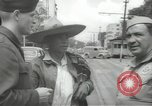 Image of United States officers Mexico City Mexico, 1944, second 13 stock footage video 65675063463