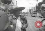 Image of United States officers Mexico City Mexico, 1944, second 15 stock footage video 65675063463