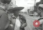 Image of United States officers Mexico City Mexico, 1944, second 16 stock footage video 65675063463