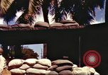 Image of Soldier standing guard at sandbagged post Honolulu Hawaii USA, 1942, second 9 stock footage video 65675063477