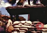 Image of Soldier standing guard at sandbagged post Honolulu Hawaii USA, 1942, second 10 stock footage video 65675063477