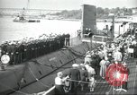Image of USS Nautilus SSN-571 commissioned Groton Connecticut United States USA, 1954, second 4 stock footage video 65675063492