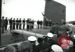 Image of USS Nautilus SSN-571 commissioned Groton Connecticut United States USA, 1954, second 34 stock footage video 65675063492