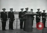 Image of USS Nautilus SSN-571 commissioned Groton Connecticut United States USA, 1954, second 36 stock footage video 65675063492