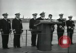 Image of USS Nautilus SSN-571 commissioned Groton Connecticut United States USA, 1954, second 37 stock footage video 65675063492