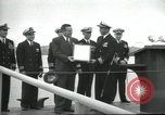 Image of USS Nautilus SSN-571 commissioned Groton Connecticut United States USA, 1954, second 42 stock footage video 65675063492
