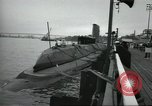 Image of USS Nautilus SSN-571 commissioned Groton Connecticut United States USA, 1954, second 55 stock footage video 65675063492