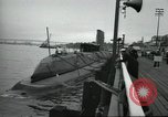 Image of USS Nautilus SSN-571 commissioned Groton Connecticut United States USA, 1954, second 56 stock footage video 65675063492