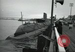 Image of USS Nautilus SSN-571 commissioned Groton Connecticut United States USA, 1954, second 57 stock footage video 65675063492