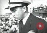 Image of USS Nautilus SSN-571 commissioning Groton Connecticut United States USA, 1954, second 4 stock footage video 65675063493