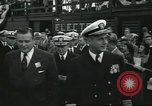 Image of USS Nautilus SSN-571 commissioning Groton Connecticut United States USA, 1954, second 17 stock footage video 65675063493