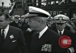 Image of USS Nautilus SSN-571 commissioning Groton Connecticut United States USA, 1954, second 19 stock footage video 65675063493