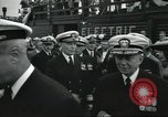 Image of USS Nautilus SSN-571 commissioning Groton Connecticut United States USA, 1954, second 20 stock footage video 65675063493