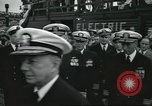 Image of USS Nautilus SSN-571 commissioning Groton Connecticut United States USA, 1954, second 22 stock footage video 65675063493