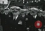 Image of USS Nautilus SSN-571 commissioning Groton Connecticut United States USA, 1954, second 23 stock footage video 65675063493