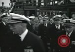 Image of USS Nautilus SSN-571 commissioning Groton Connecticut United States USA, 1954, second 25 stock footage video 65675063493