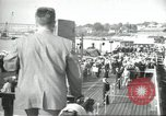 Image of USS Nautilus SSN-571 commissioning Groton Connecticut United States USA, 1954, second 38 stock footage video 65675063493