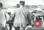 Image of USS Nautilus SSN-571 commissioning Groton Connecticut United States USA, 1954, second 39 stock footage video 65675063493
