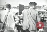 Image of USS Nautilus SSN-571 commissioning Groton Connecticut United States USA, 1954, second 40 stock footage video 65675063493