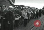 Image of USS Nautilus SSN-571 commissioning Groton Connecticut United States USA, 1954, second 46 stock footage video 65675063493
