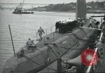 Image of USS Nautilus SSN-571 commissioning Groton Connecticut United States USA, 1954, second 62 stock footage video 65675063493