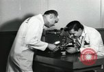 Image of Microscopic precision machining in a laboratory United States USA, 1954, second 18 stock footage video 65675063494
