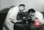 Image of Microscopic precision machining in a laboratory United States USA, 1954, second 20 stock footage video 65675063494