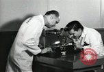 Image of Microscopic precision machining in a laboratory United States USA, 1954, second 21 stock footage video 65675063494