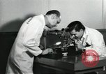 Image of Microscopic precision machining in a laboratory United States USA, 1954, second 22 stock footage video 65675063494