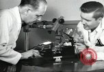 Image of Microscopic precision machining in a laboratory United States USA, 1954, second 25 stock footage video 65675063494