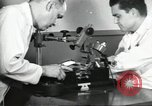 Image of Microscopic precision machining in a laboratory United States USA, 1954, second 29 stock footage video 65675063494