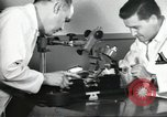 Image of Microscopic precision machining in a laboratory United States USA, 1954, second 31 stock footage video 65675063494