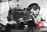 Image of Microscopic precision machining in a laboratory United States USA, 1954, second 35 stock footage video 65675063494