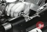 Image of Microscopic precision machining in a laboratory United States USA, 1954, second 38 stock footage video 65675063494