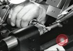 Image of Microscopic precision machining in a laboratory United States USA, 1954, second 43 stock footage video 65675063494