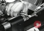 Image of Microscopic precision machining in a laboratory United States USA, 1954, second 49 stock footage video 65675063494