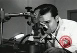 Image of Microscopic precision machining in a laboratory United States USA, 1954, second 51 stock footage video 65675063494