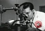 Image of Microscopic precision machining in a laboratory United States USA, 1954, second 52 stock footage video 65675063494