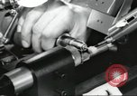Image of Microscopic precision machining in a laboratory United States USA, 1954, second 56 stock footage video 65675063494