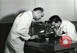 Image of Microscopic precision machining in a laboratory United States USA, 1954, second 57 stock footage video 65675063494