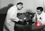 Image of Microscopic precision machining in a laboratory United States USA, 1954, second 61 stock footage video 65675063494